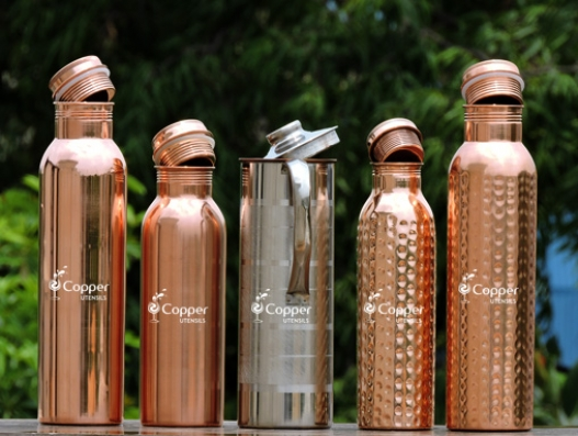 Plastic Bottles or Copper Bottles, It is your choice. Healthy Body or Complications Come with Your Choice